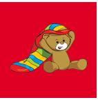 TEDDY EDDY dla dzieci w wieku 2 - 7 lat